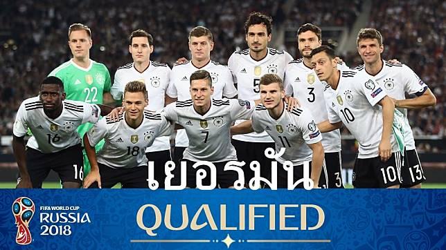 ผลการแข่งขัน เยอรมัน